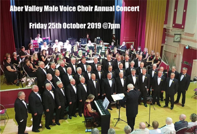 Aber Valley Male Voice Choir at Bedwas Workmen's Hall