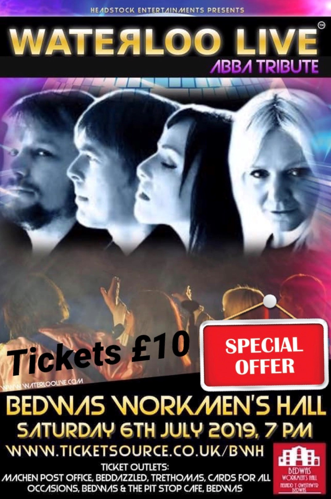 No Disrespect at Bedwas Workmen's Hall