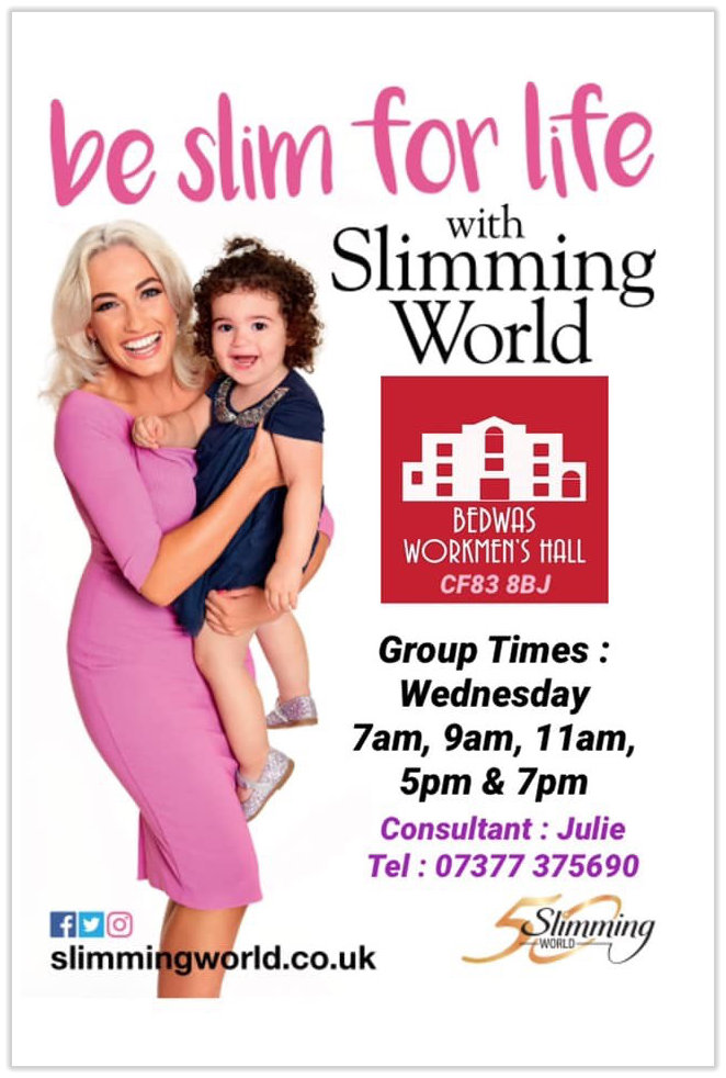 Slimming World at Bedwas Workmen's Hall