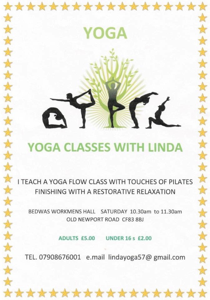Yoga with Linda at Bedwas Workmen's Hall